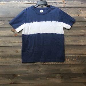 Boys Blue and White shirt